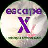 Logo-escapeX-quadrat-lila-grün-rund